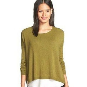 Eileen Fisher Bateau Slouchy Sweater